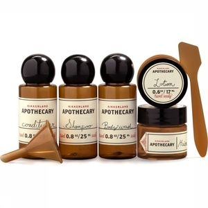 Apothecary Overnight Stay Essentials Travel Case